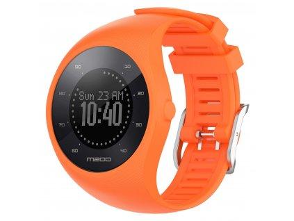 Orange sport silicone wristband straps for pola variants 6