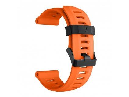 orange 26 mm wristband for garmin fenix 5 x 5 xplu variants 4