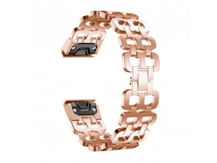 Rose Gold hot 26 mm stainless steel strap watchband variants 2