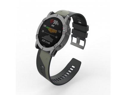 22 26 mm silicone quick release watchband description 7