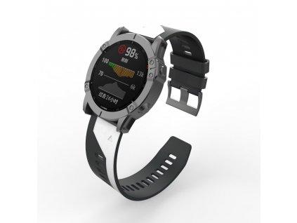 22 26 mm silicone quick release watchband description 2