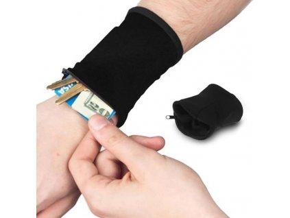 outdoor wrist band with key card bag saf main 1