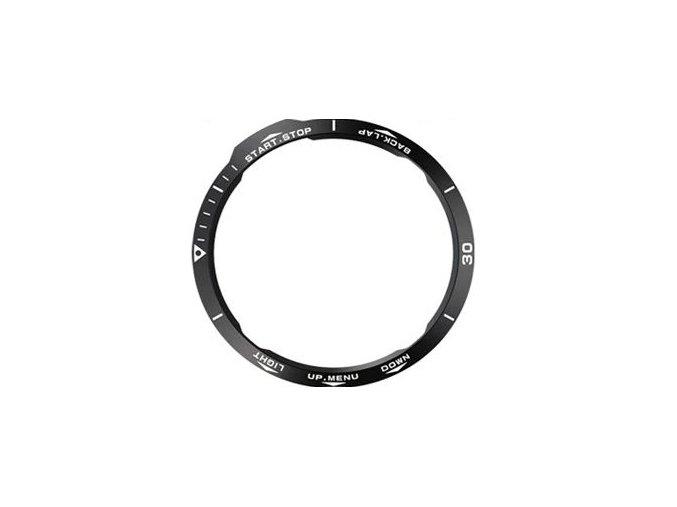 Ochranná luneta kroužek Garmin Fenix 6X černá