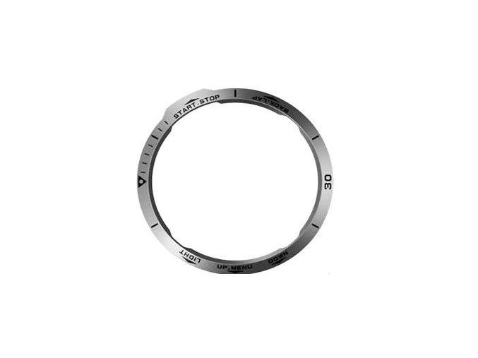 Ochranná luneta kroužek Garmin Fenix 6 stříbrná
