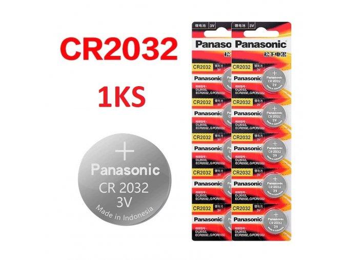 Panasonic baterie lithiová Panasonic Lithium Power 3V CR2032 1KS