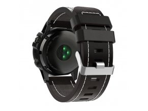 Luxury Leather Strap Replacement Watch Band With Tools For Garm(1)