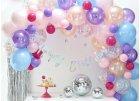 Balónkové girlandy a stěny