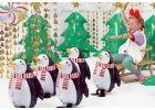 Balonky s vánočním motivem