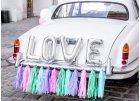 Dekorace svatebních aut