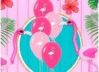 Flamingo summer party