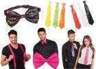 Šátky, kravaty, motýlci, kšandy, rukavice