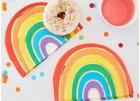 Rainbow color birthday