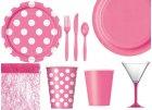 Stolování magenta pink