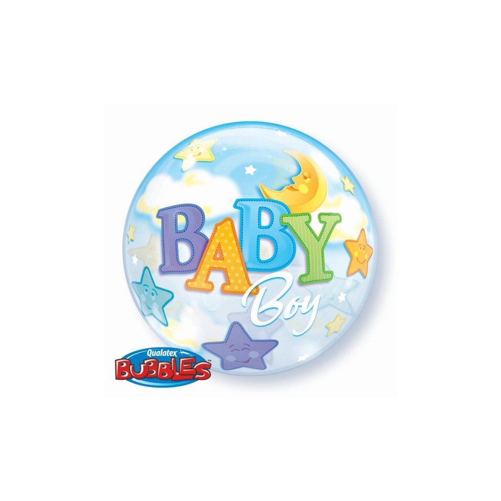 Balonek Bubbles Baby Boy 56cm