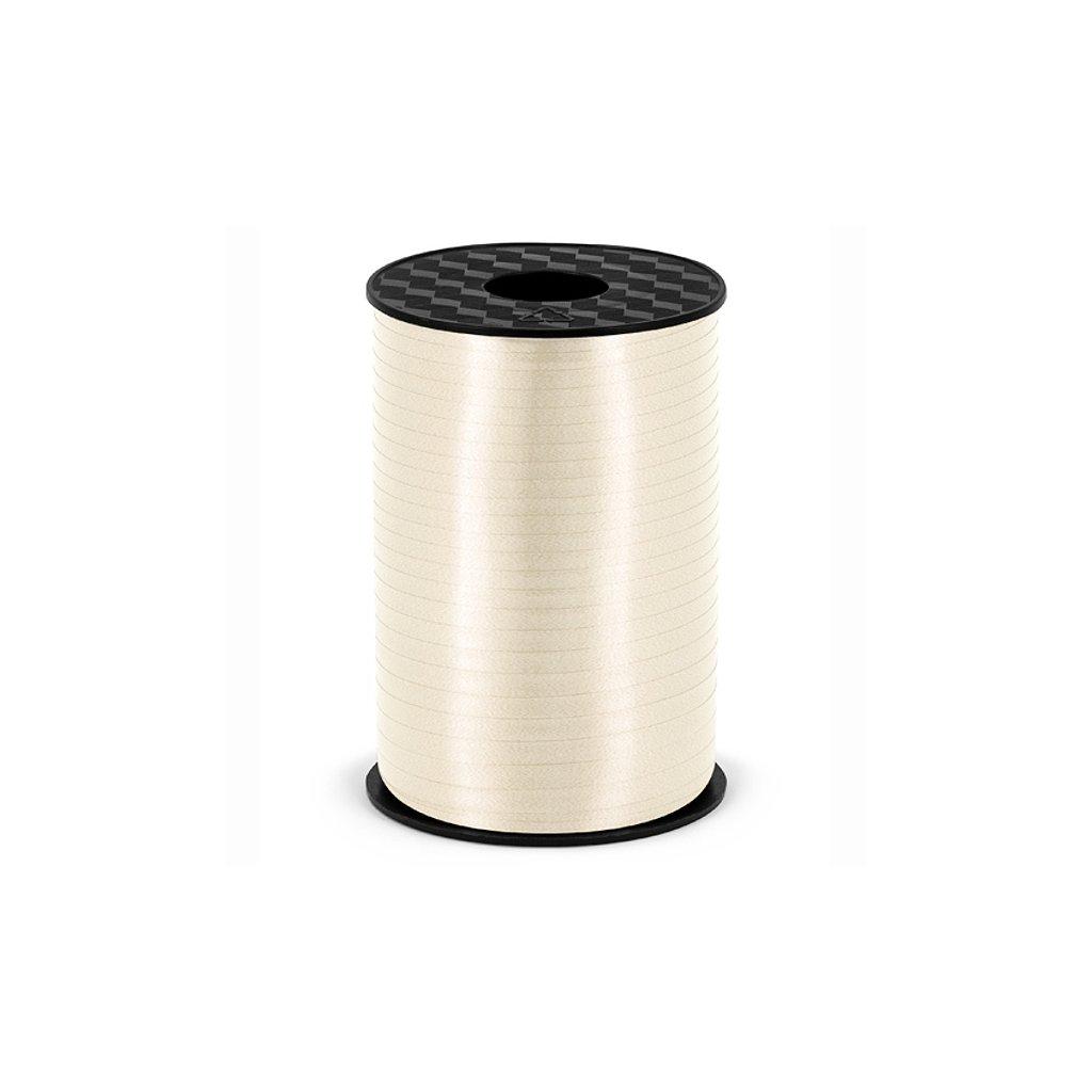 Stuha plastová vázací šampaň 5mm/225m