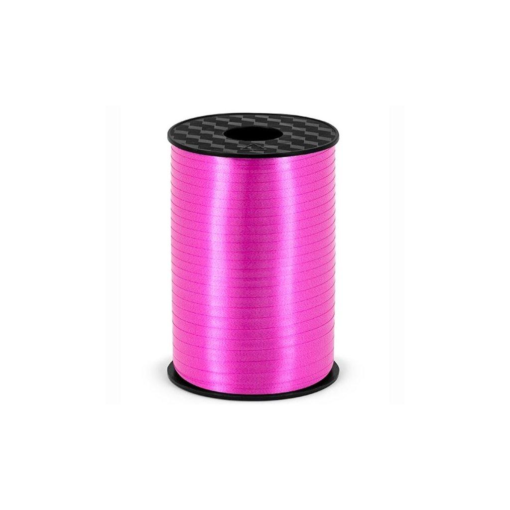 Stuha plastová vázací fuchsiová 5mm/225m