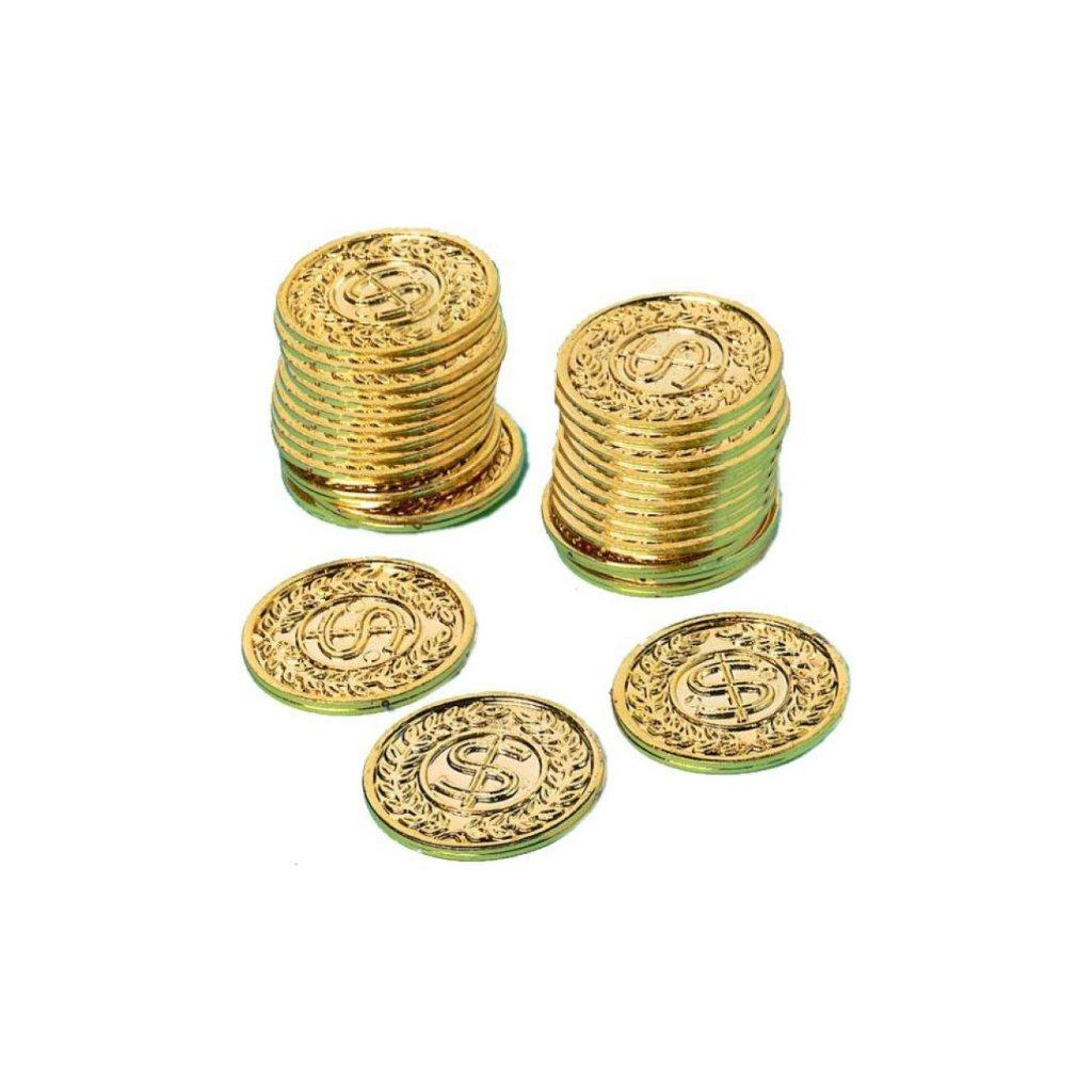 Mince zlaté 144ks