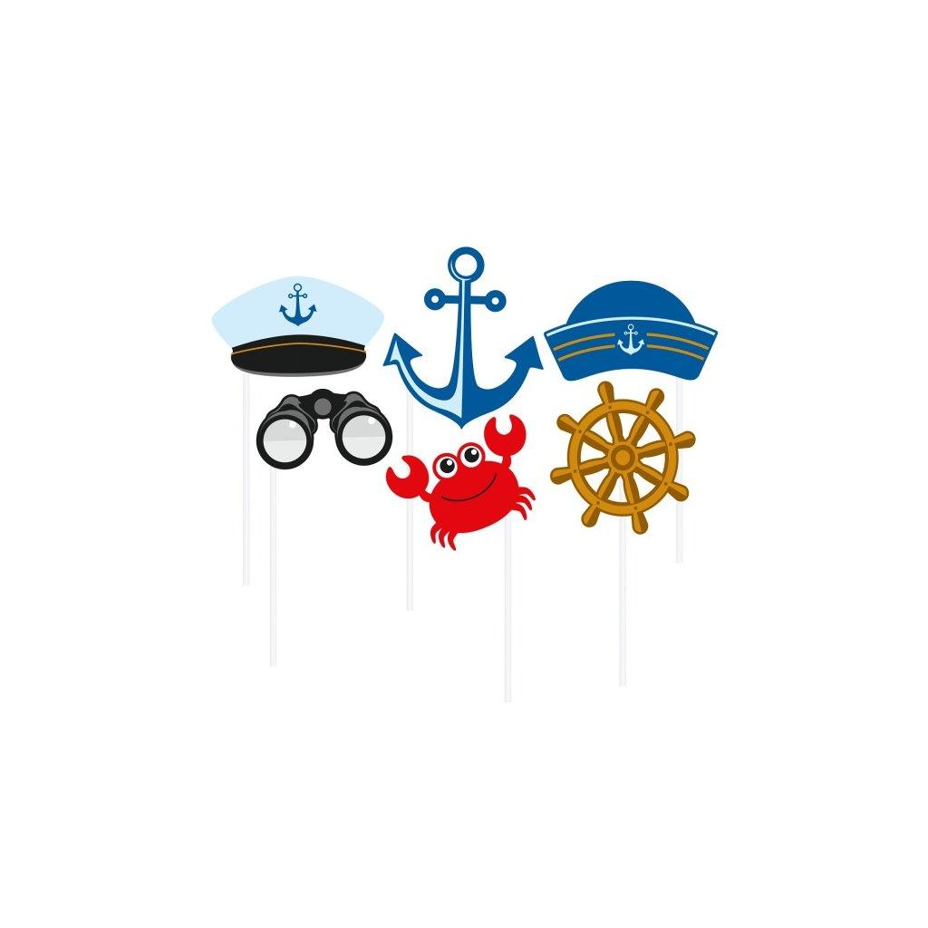 Fotorekvizity do vašeho party fotokoutku ve stylu Ahoy