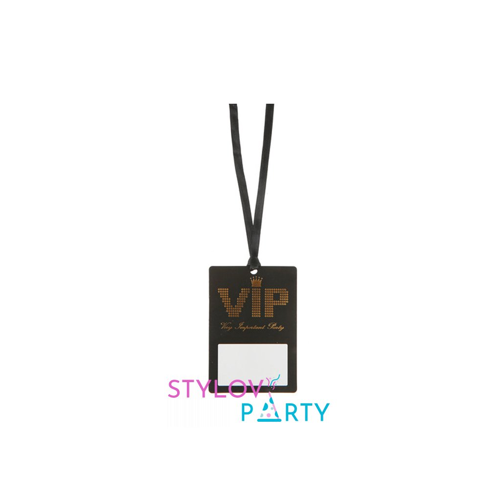 Jmenovky VIP se stuhou 10ks