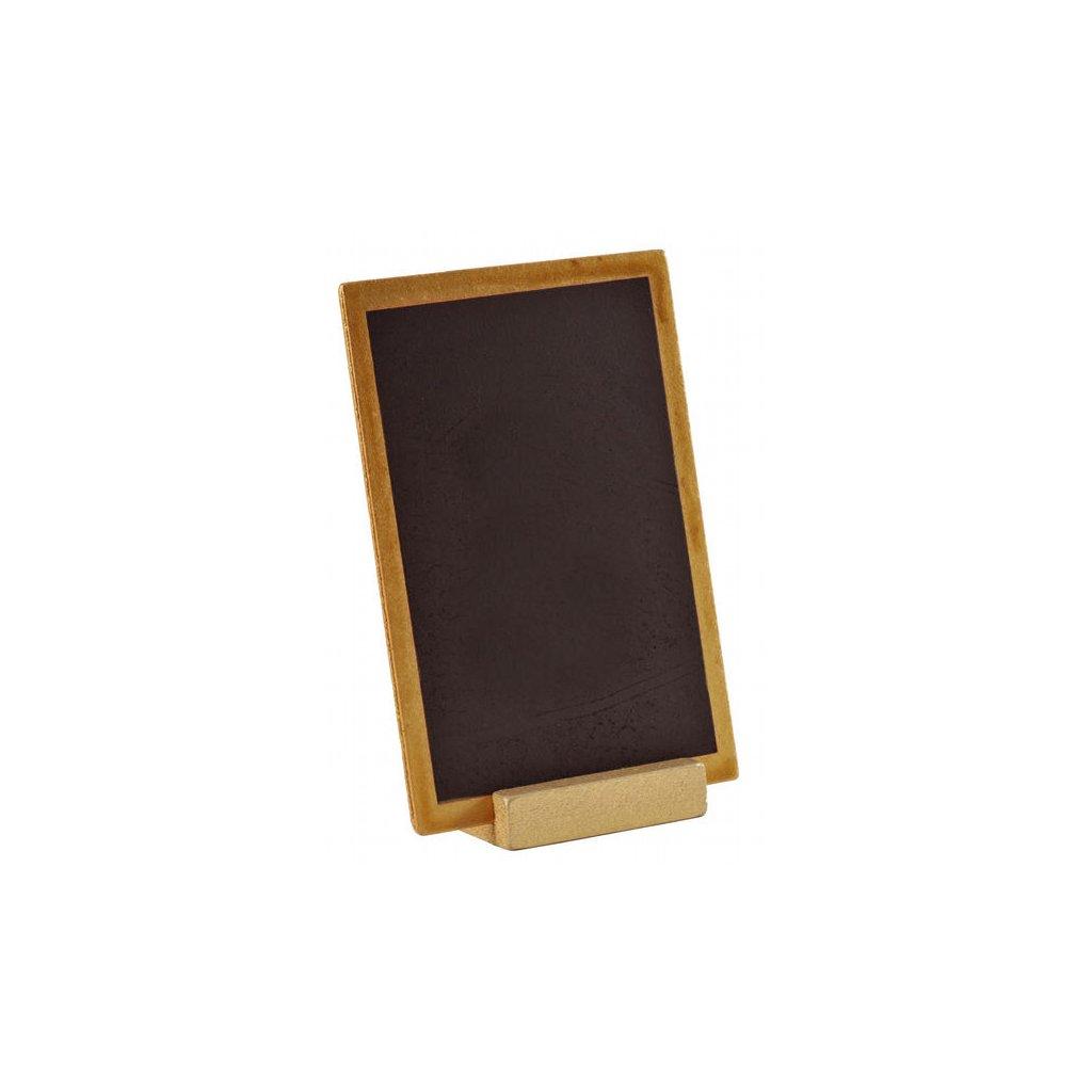 Tabulka dřevěná v přírodním rámečku 10 x 15 cm