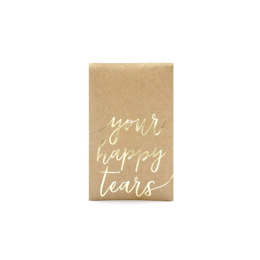 Kapesníčky papírové Your happy tears 7,5 x 12 cm 30 ks