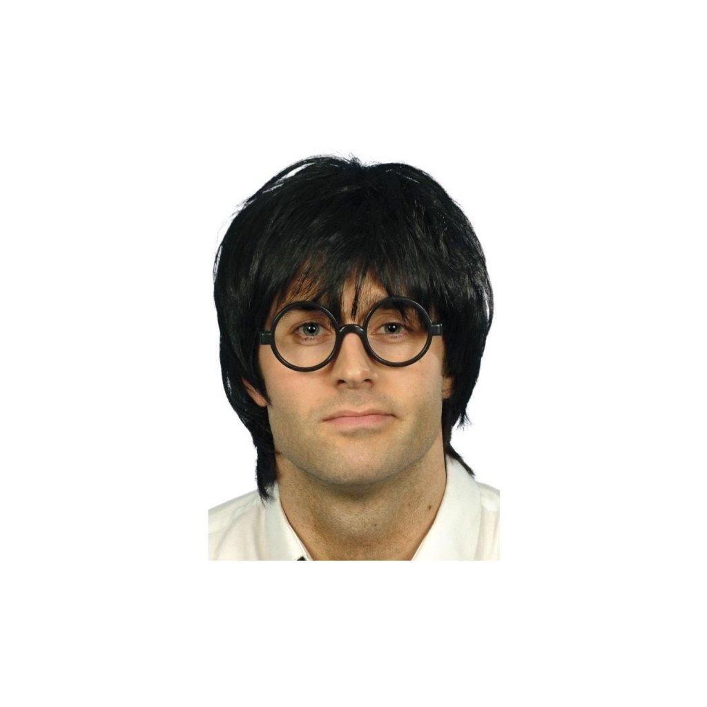Originální sada s výmluvným názvem Školák, s černými brýlemi a parukou