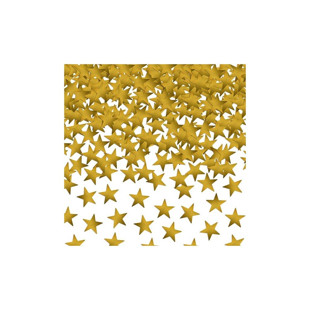 Konfety stolní 30g zlaté hvězdy