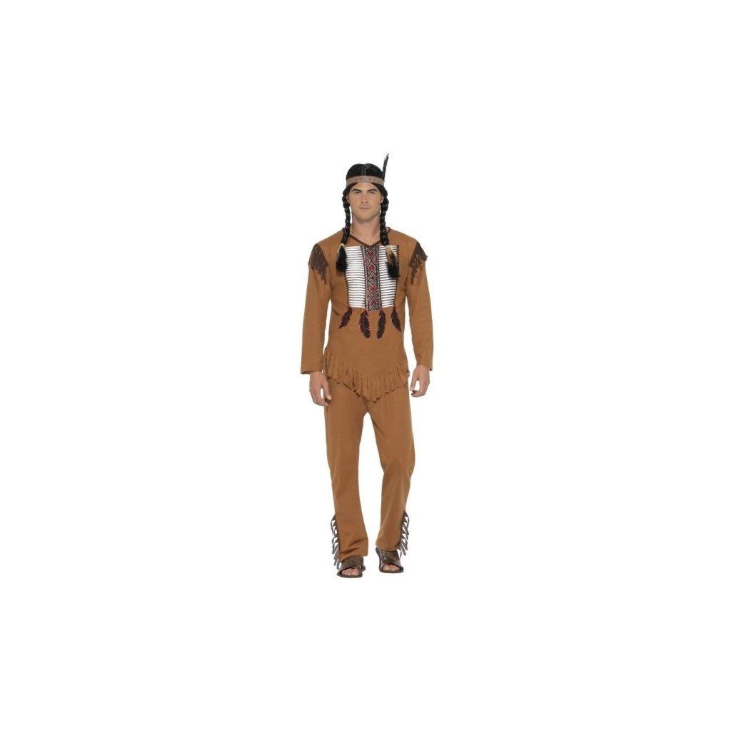 Kostým pánský Indián  Velikost XL