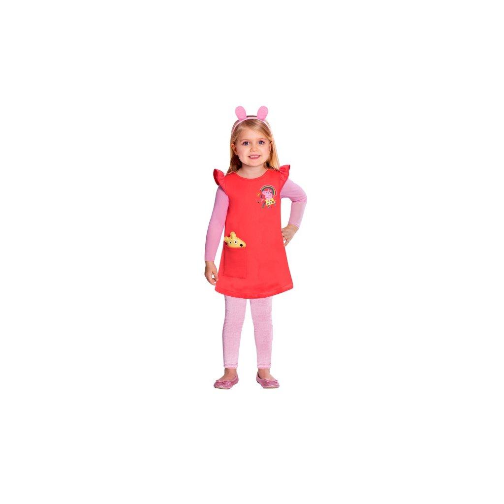 Kostým pro nejmenší Peppa Pro děti ve věku od 4 do 6 let.