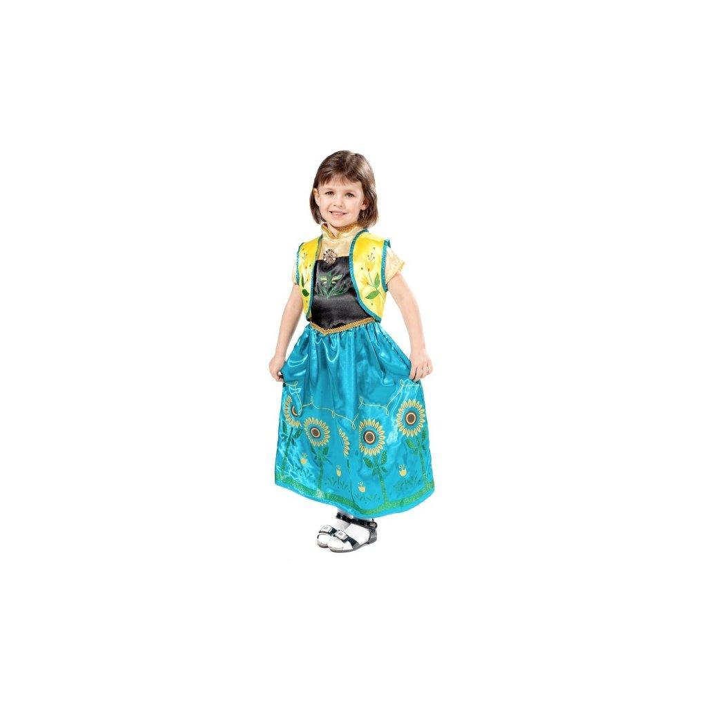 Kostým pro holčičky ve stylu Princezna Anna. Velikost S