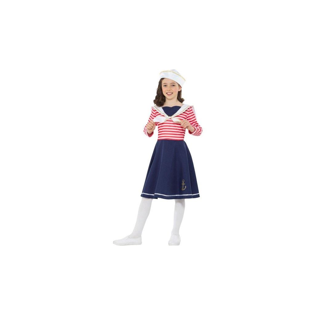 Kostým pro holčičky Námořnice  Velikost S