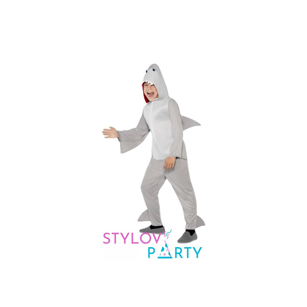 Kostým pro děti ve stylu Žralok Velikost S