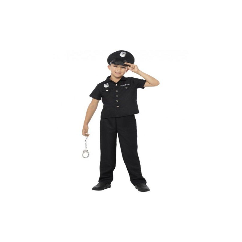 Kostým pro chlapečky ve stylu Policista. Velikost L