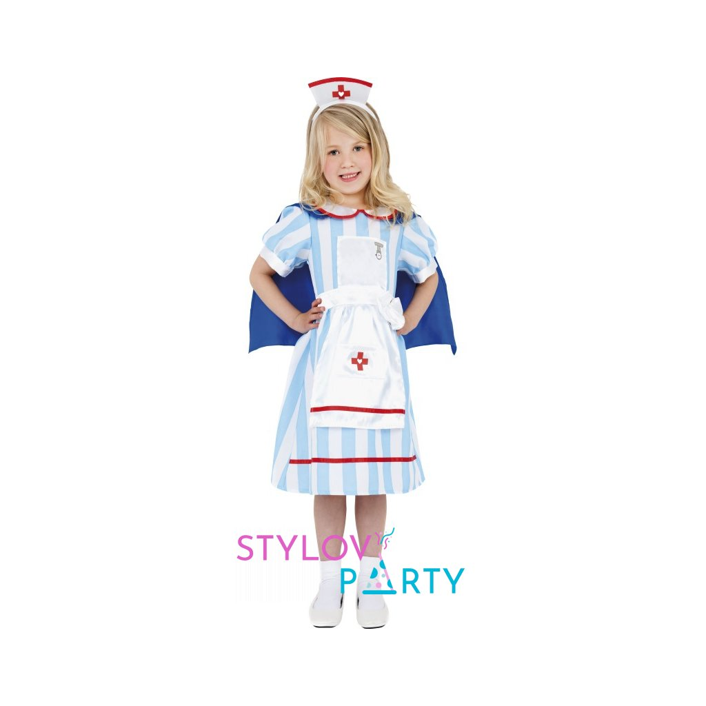 Kostým pro holčičky ve stylu Zdravotní sestřička  -  Velikost S