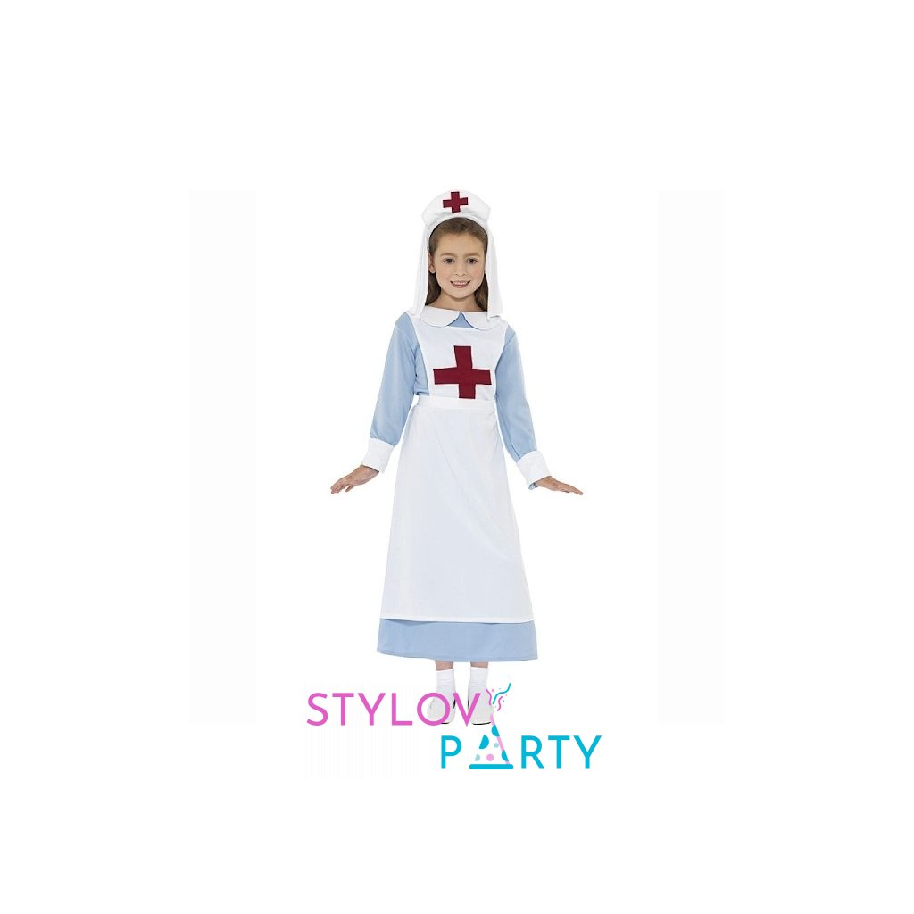 Kostým pro holčičky ve stylu Zdravotní sestřička. Velikost M