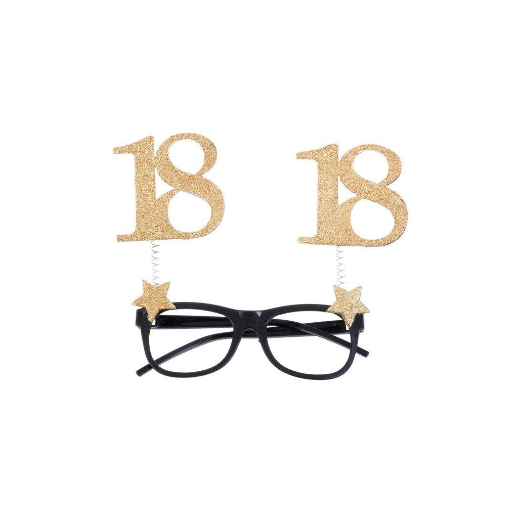 Brýle narozeninové 18 let 1ks