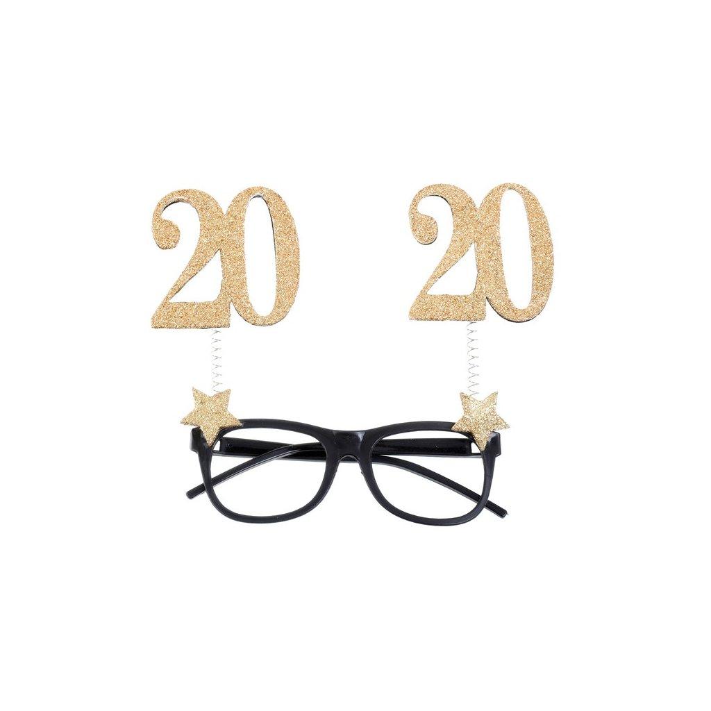Brýle narozeninové 20 let 1ks
