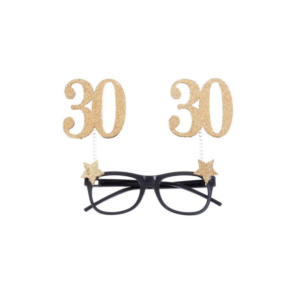 Brýle narozeninové 30 let 1ks