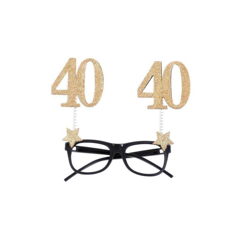 Brýle narozeninové 40 let 1ks