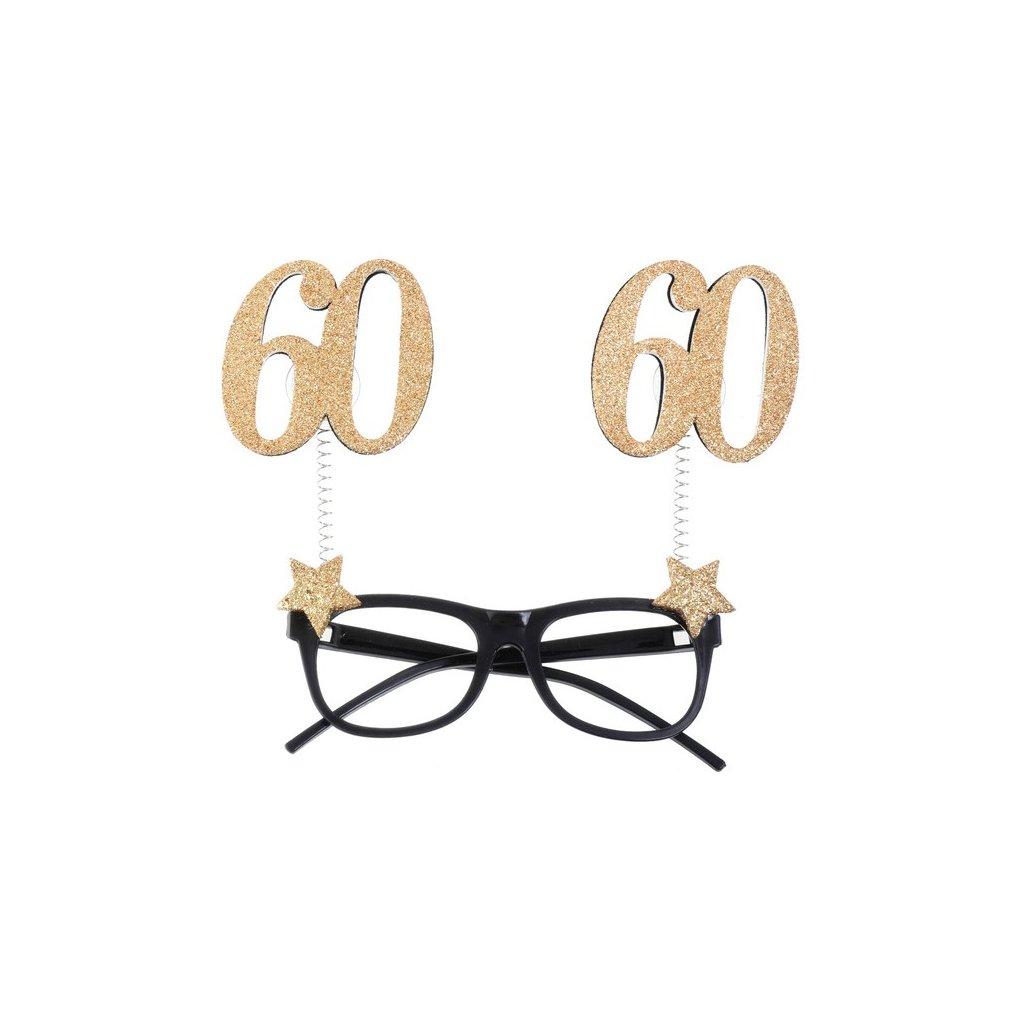Brýle narozeninové 60 let 1ks