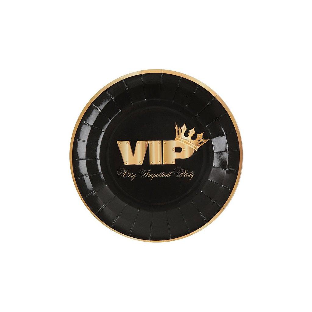 Talířky mini černé V.I.P. 10ks