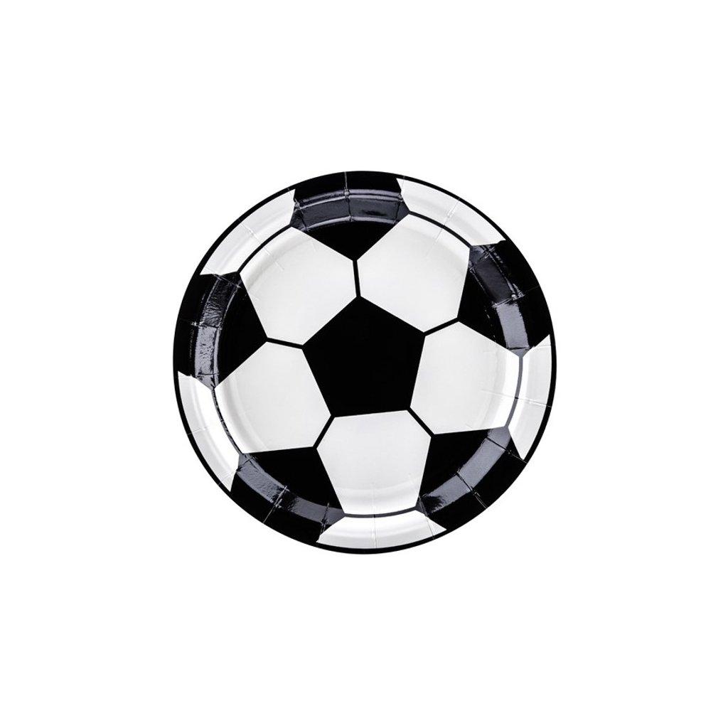 Talířky fotbalový míč 6ks