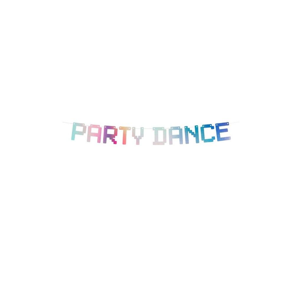 Banner duhový Party Dance 1,3m