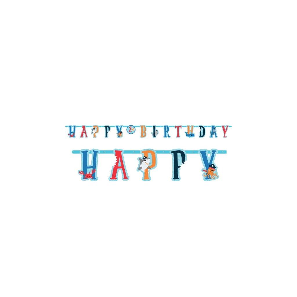 Banner Happy Birthday Ahoy 182cm
