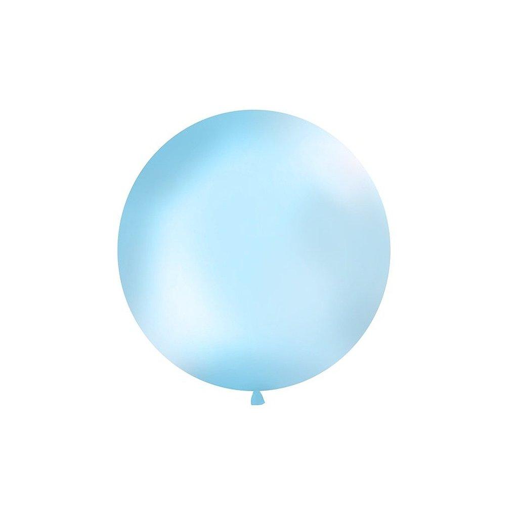 Balonek jumbo svetle modry