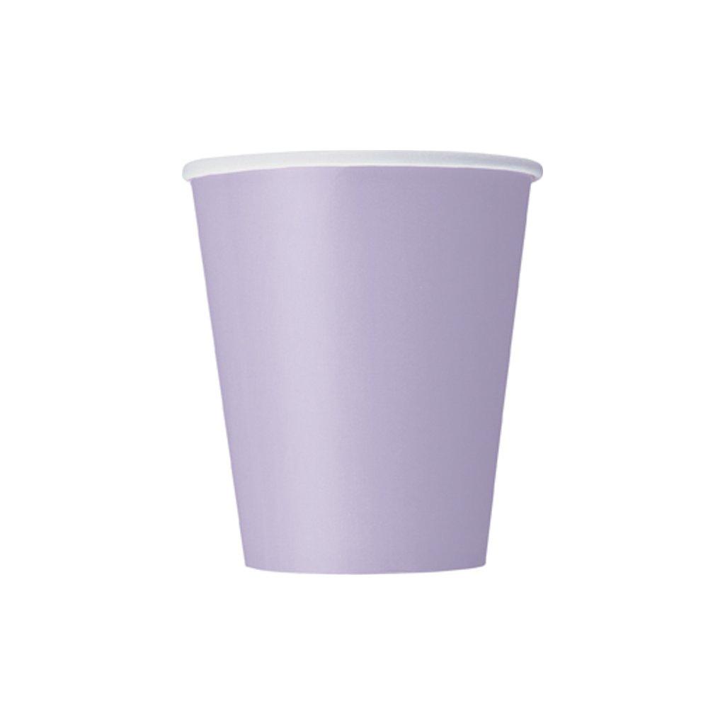 Kelímky papírové Lavender 270ml 14ks