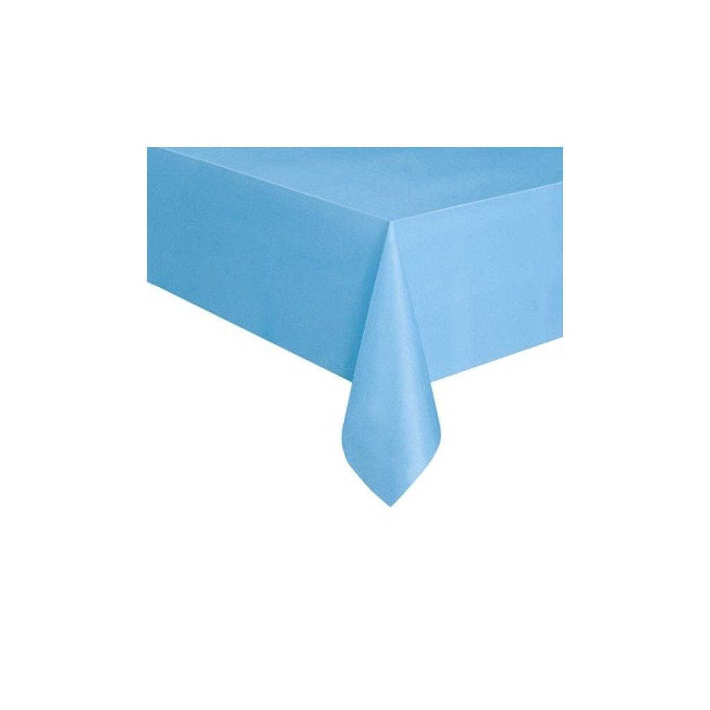 Ubrus plastový Powder Blue pro obdélníkový stůl 137x274cm
