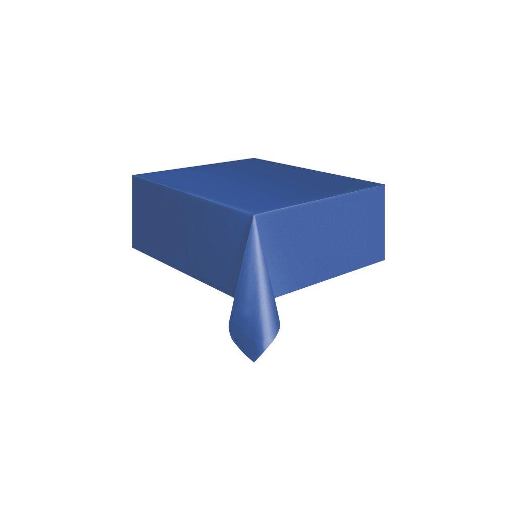 Ubrus plastový Royal Blue pro obdélníkový stůl 137x274cm