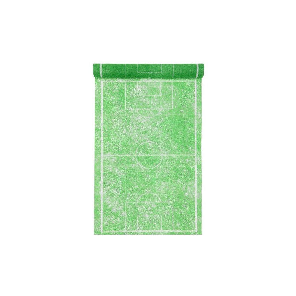 Šerpa na stůl Fotbalové hřiště 30cmx5m