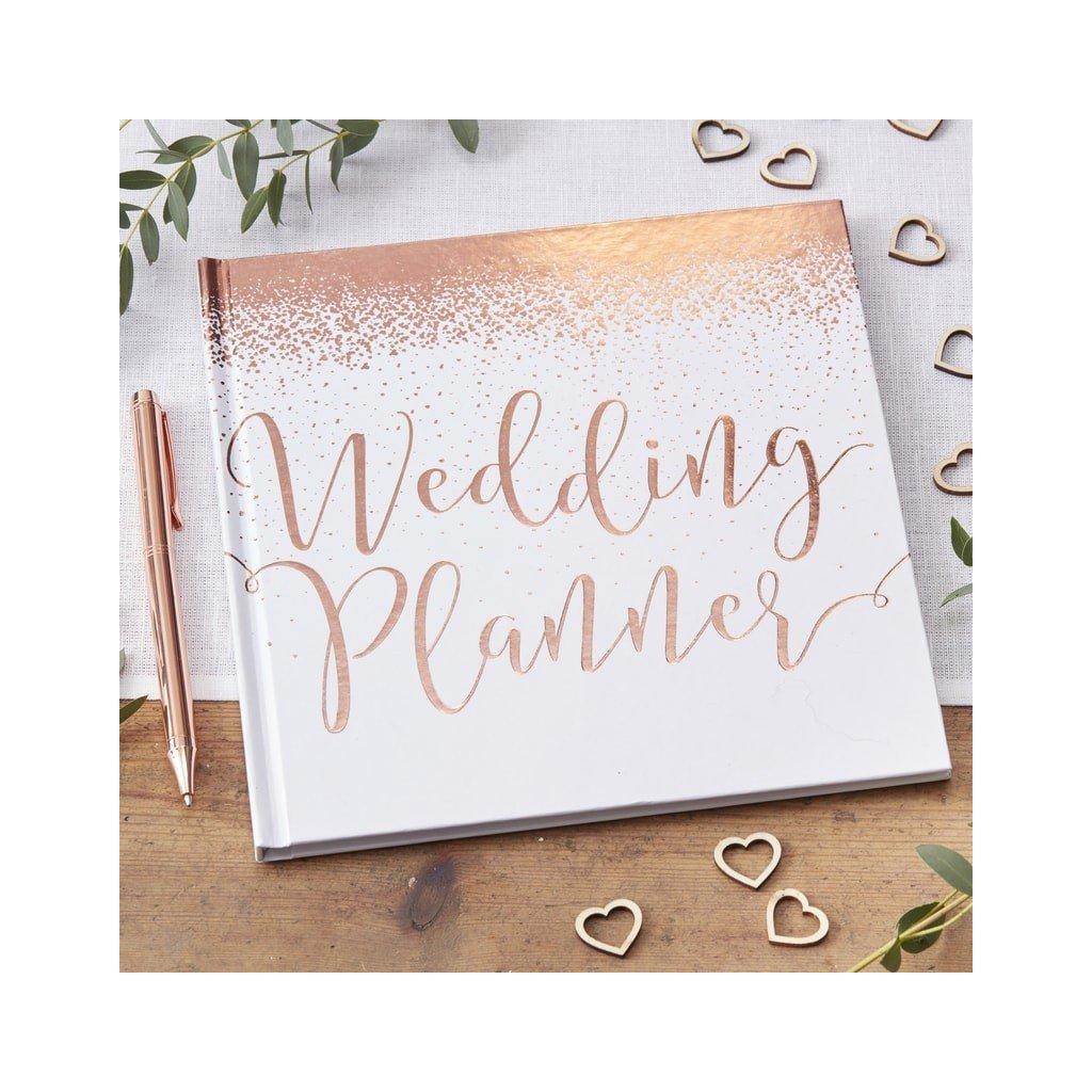 Svatební plánovač Rose Gold